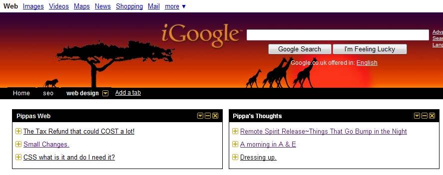 Igoogle used to be googles feed reader