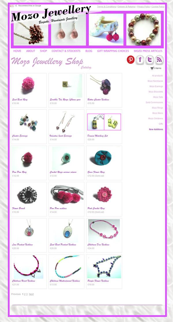 Jewellery Shop set up