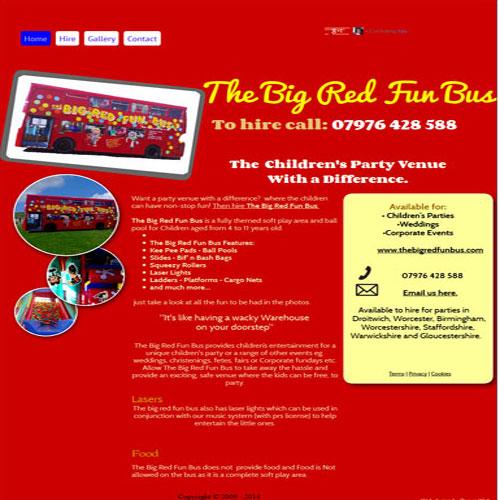 The Big Red Fun Bus