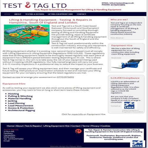 Test and Tag Ltd