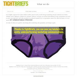TightBriefs Creative