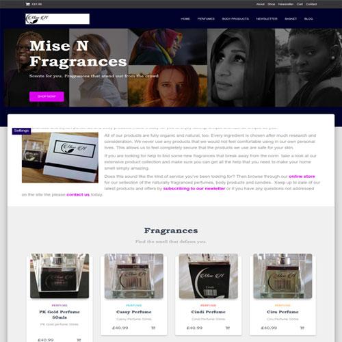 Mise N Fragrance - Designed by Pippas Web