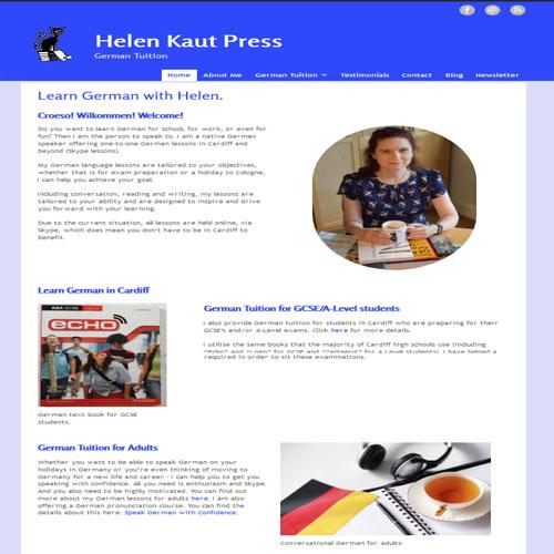 Helen Kaut Press - German Tuition